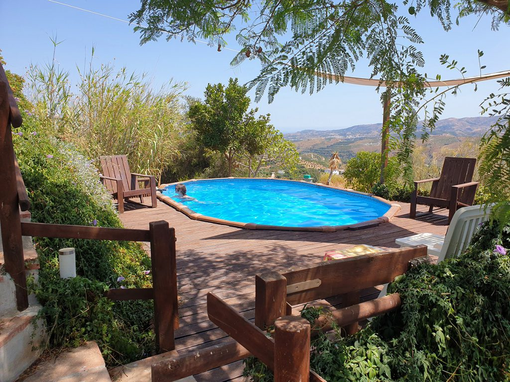 Holiday Home Encantada swimming pool